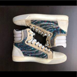 Lanvin Beaded Sneaker